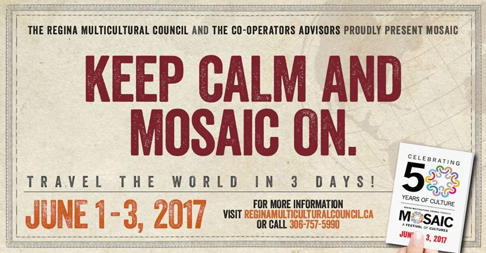 Keep Calm & Mosaic On!