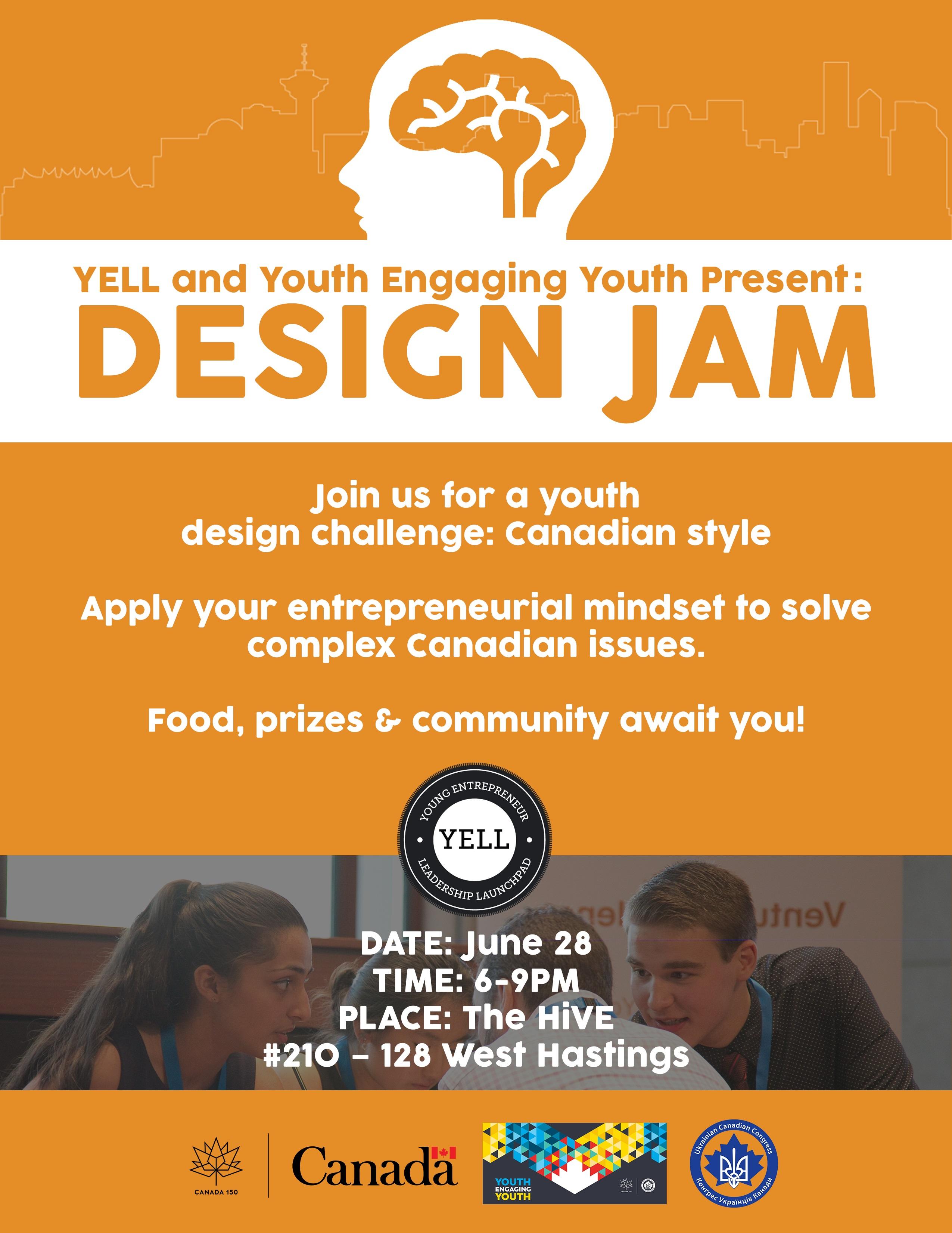 Canadian Youth Design Jam