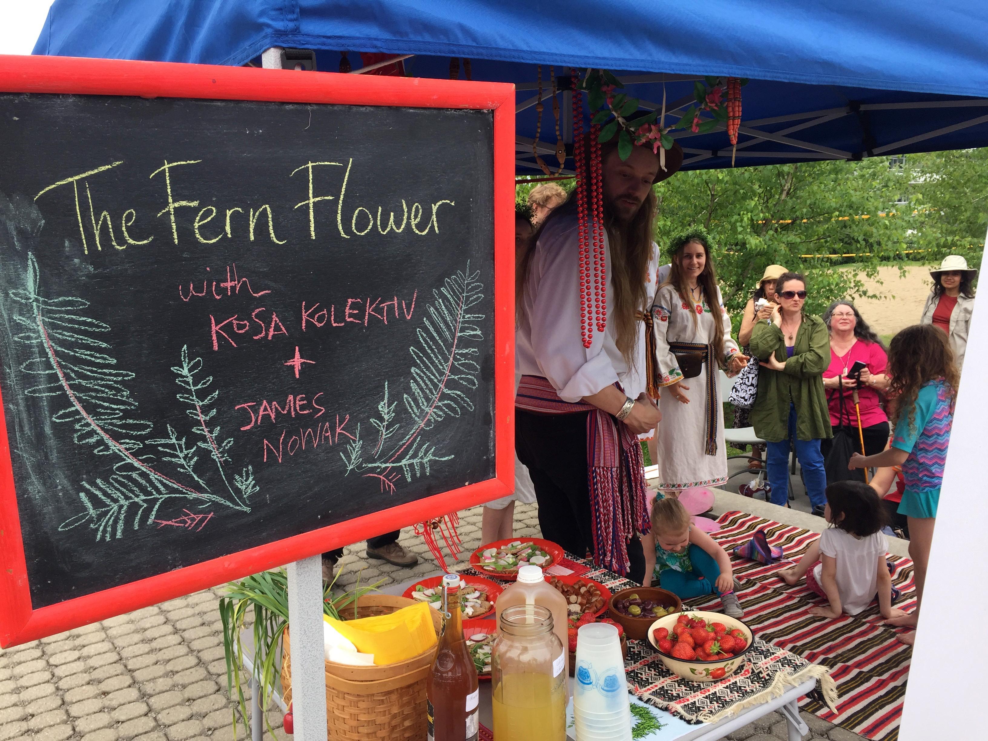 Fern Flower – Storytelling at Wychwood Park